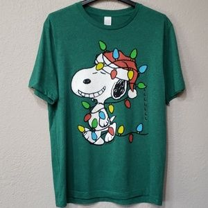 Snoopy Holiday Tshirt